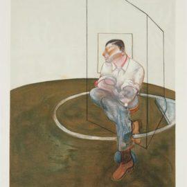 Francis Bacon-Etude Pour Un Portrait De John Edwards (Study For A Portrait Of John Edwards)-1986
