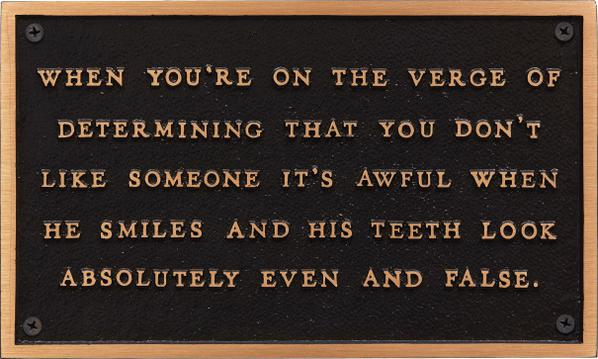 Jenny Holzer-When Youre On The Verge Of Determining, From The Living Series-1982
