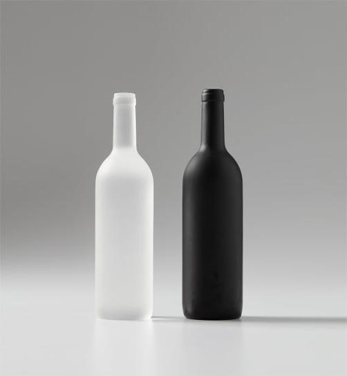 Sherrie Levine-Black And White Bottles-1992