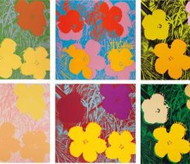 Andy Warhol-Flowers-1970