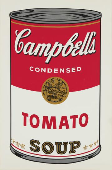 Andy Warhol-Tomato, From Campbells Soup I-1968