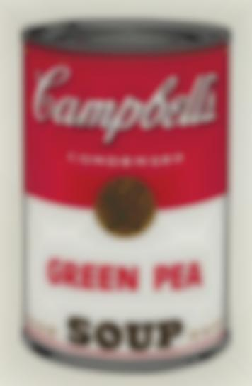 Andy Warhol-Green Pea, From Campbells Soup I-1968
