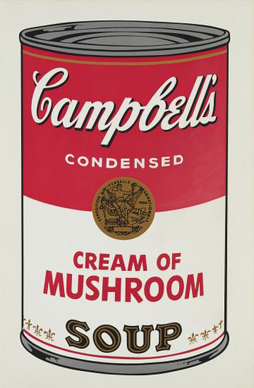 Andy Warhol-Cream Of Mushroom, From Campbells Soup I-1968