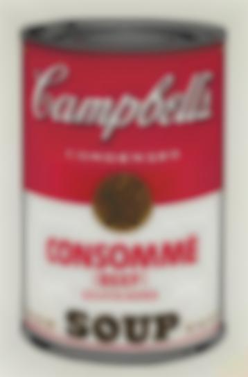 Andy Warhol-Consomme Beef, From Campbells Soup I-1968
