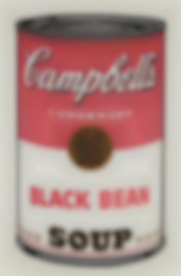 Andy Warhol-Black Bean, From Campbells Soup I-1968