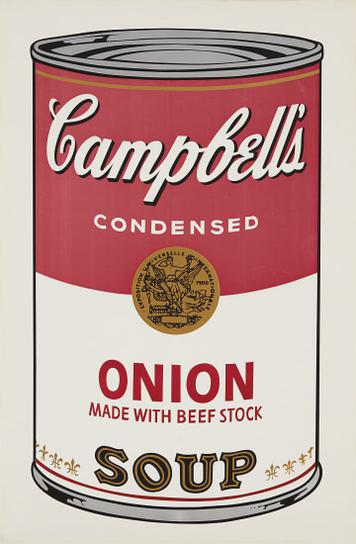 Andy Warhol-Onion, From Campbells Soup I-1968