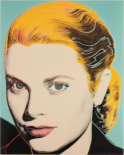 Andy Warhol-Grace Kelly-1984