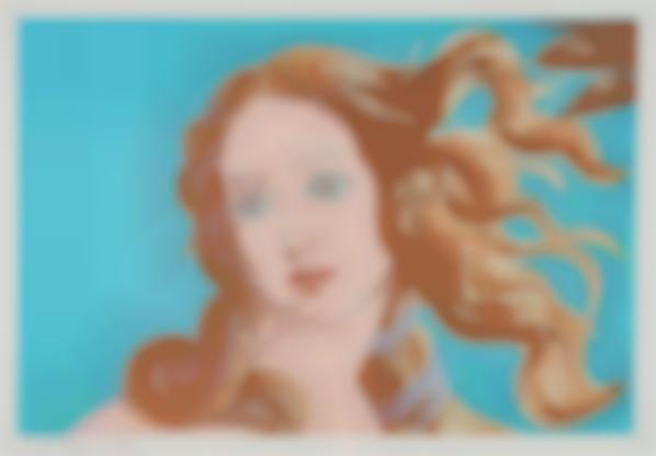 Andy Warhol-Details Of A Renaissance Painting (Sandro Boticelli Birth Of Venus 1482)-1984