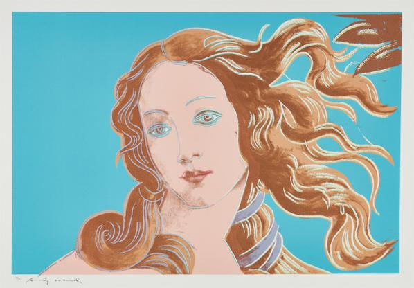 Andy Warhol-Details Of A Renaissance Painting (Sandro Boticelli Birth Of Venus 1482)-1984
