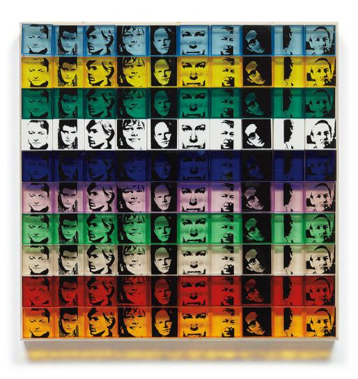 Andy Warhol-Portrait Of The Artists, From Ten From Leo Castelli-1967