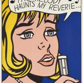Roy Lichtenstein-Reverie, From 11 Pop Artists, Volume II-1965