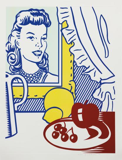 Roy Lichtenstein-Still Life With Portrait, From Six Still Lifes Series-1974