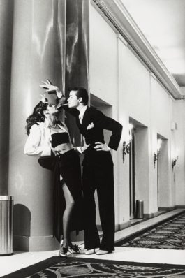 Helmut Newton-Woman Into Man, Vogue, Paris, From Private Property Suite I-1979