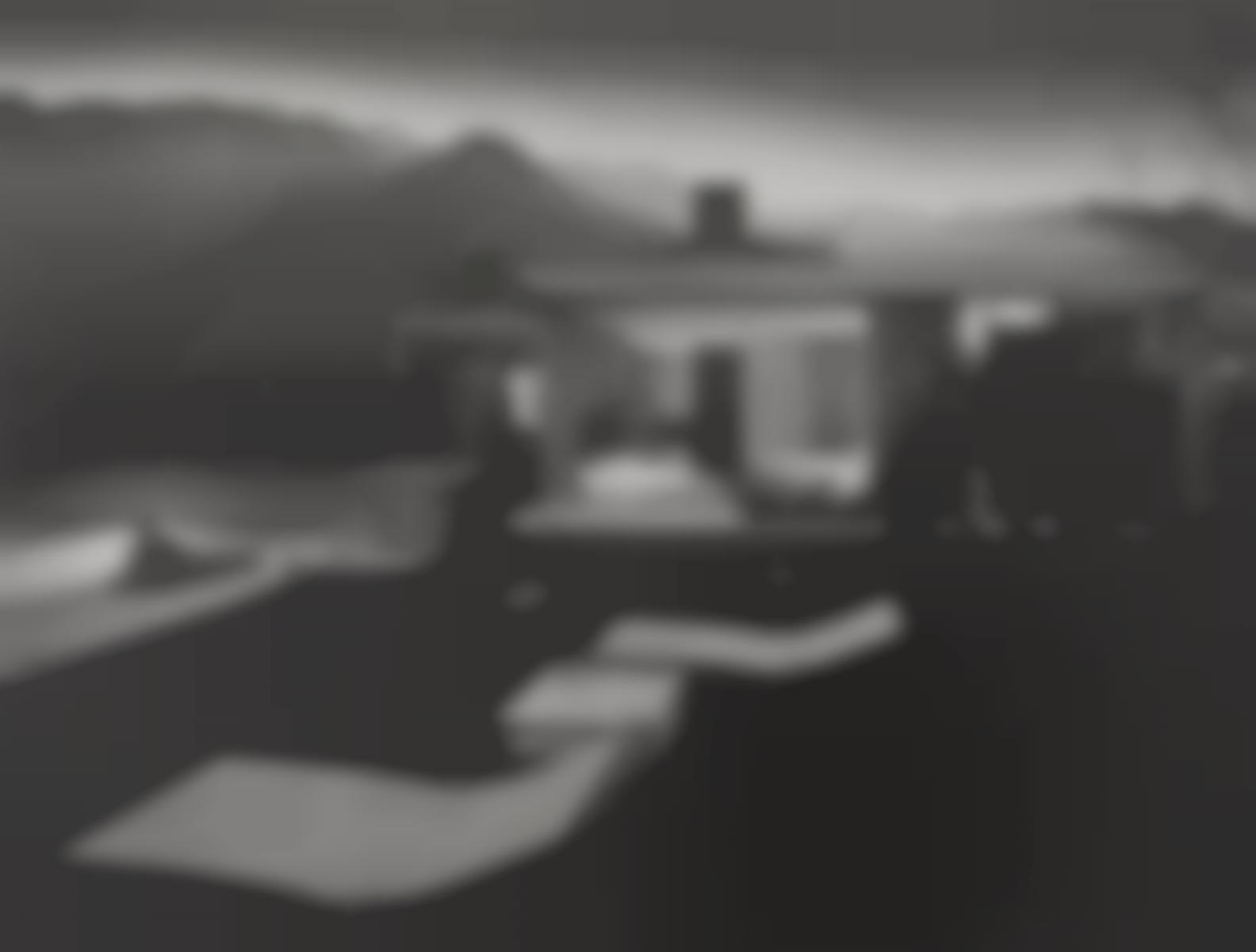 Julius Shulman-Kaufman House, Palm Springs, California, Richard Neutra, Architect-1947