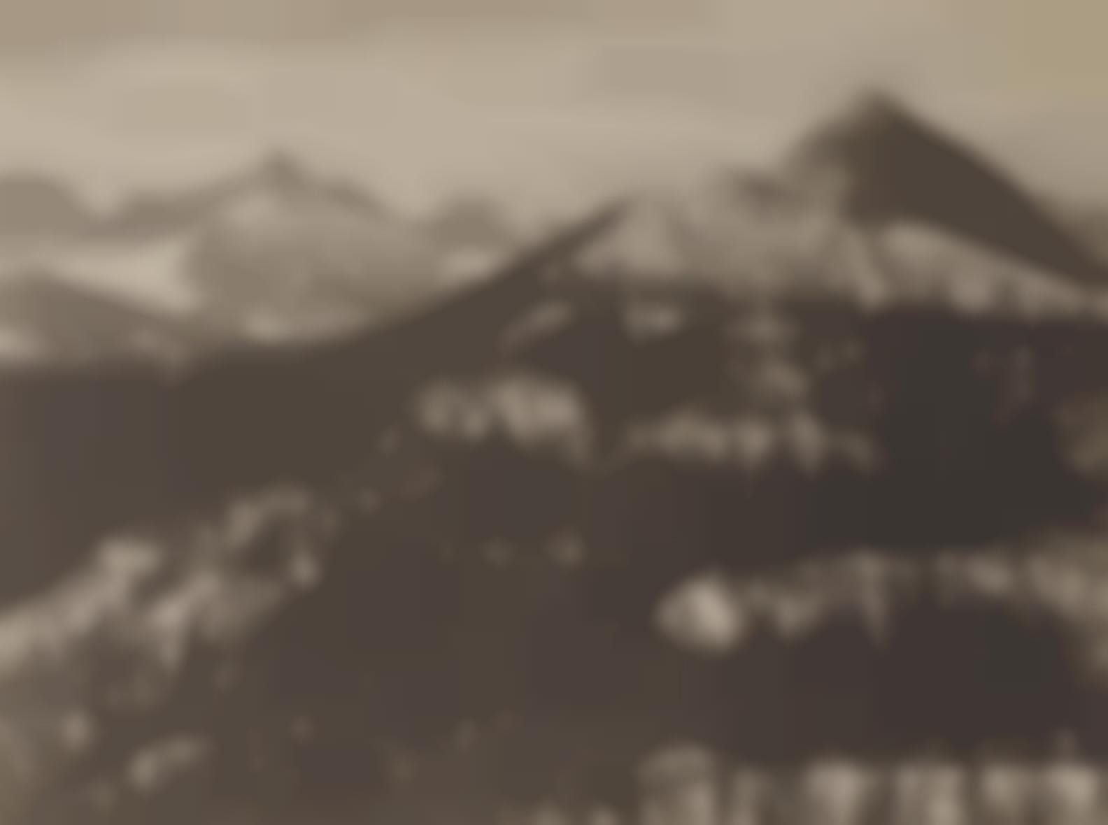 Ansel Adams-From Glacier Point, c. 1928-