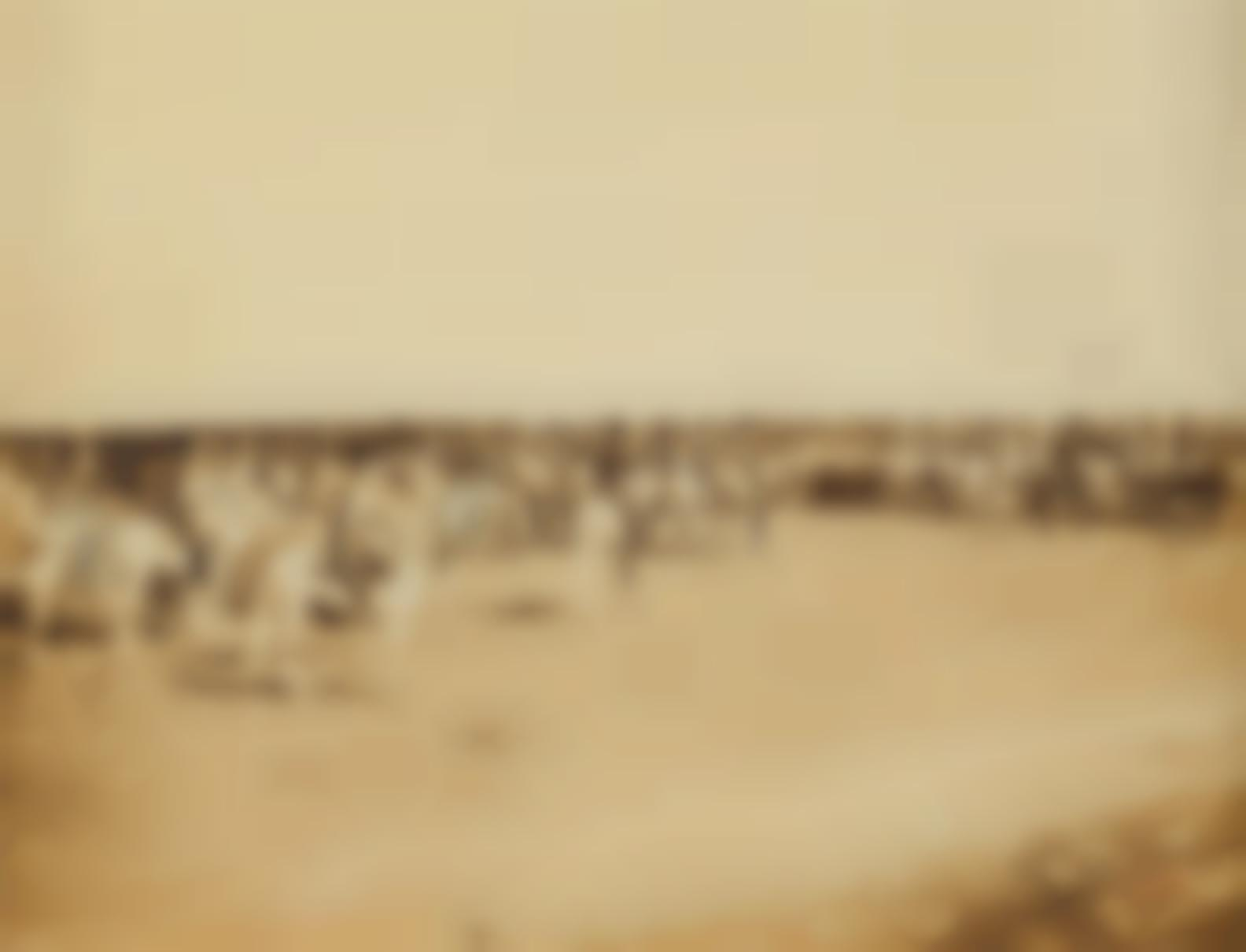 Gustave Le Gray-Cavalry Maneuvers At Chalons-1857