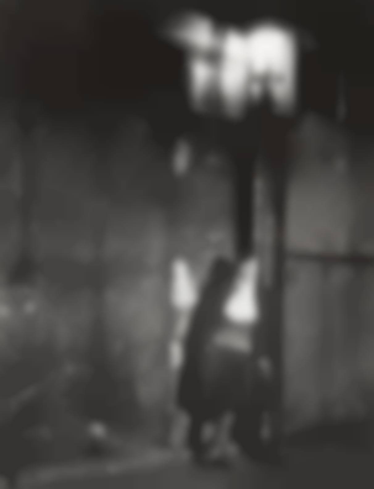 Brassai-Fille Adossee A Un Mur A Lecharpe Herminette, 1930s-
