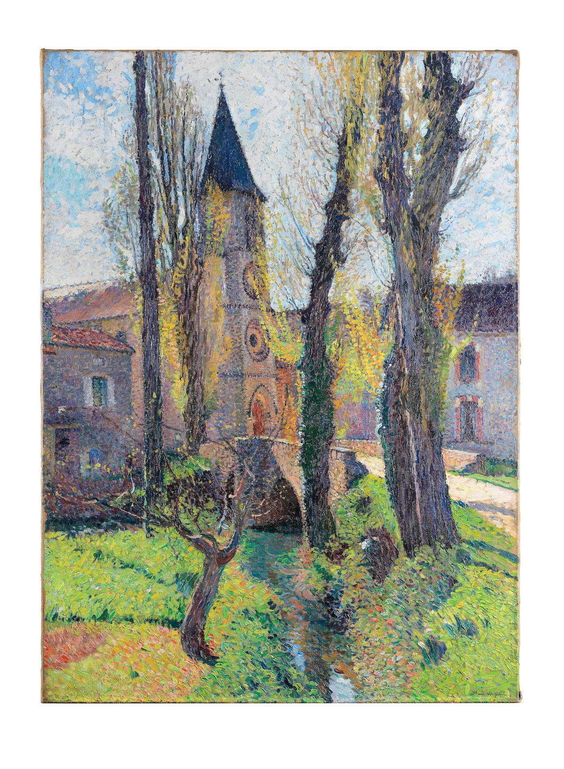 Henri Martin-Leglise De Labastide Du Vert-