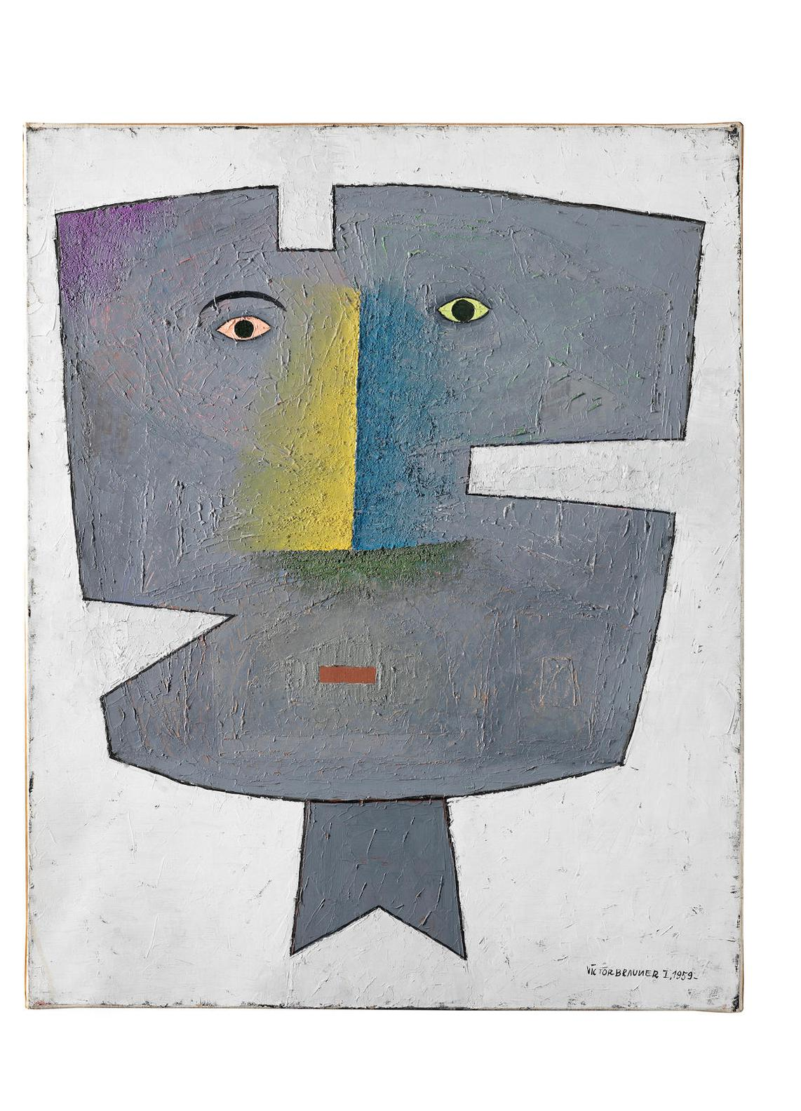 Victor Brauner-Reconstruction De Letre Aime II-1959