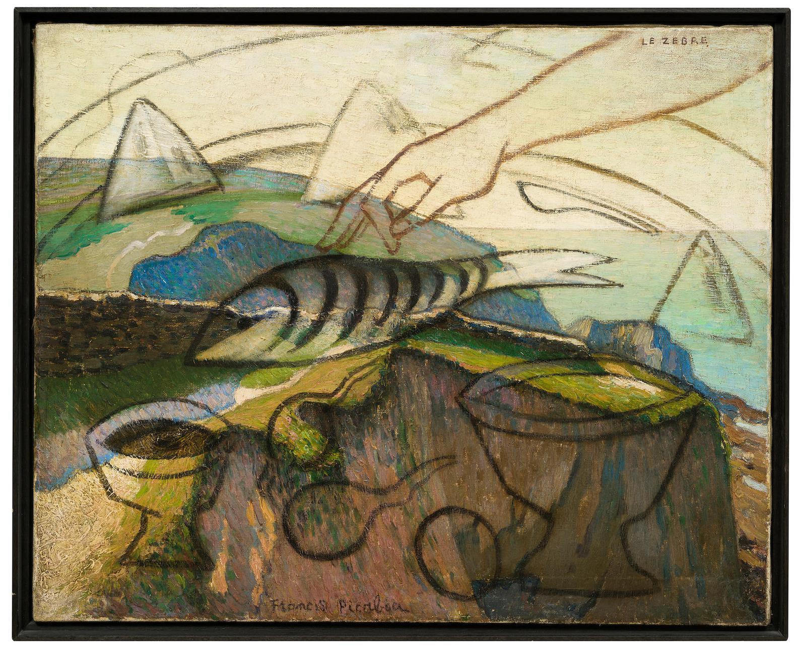 Francis Picabia-Le Zebre-1929