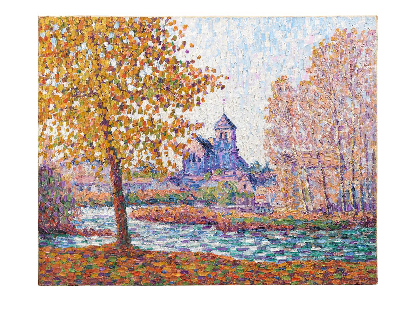 Francis Picabia-Leglise De Montigny, Effet Dautomne-1908