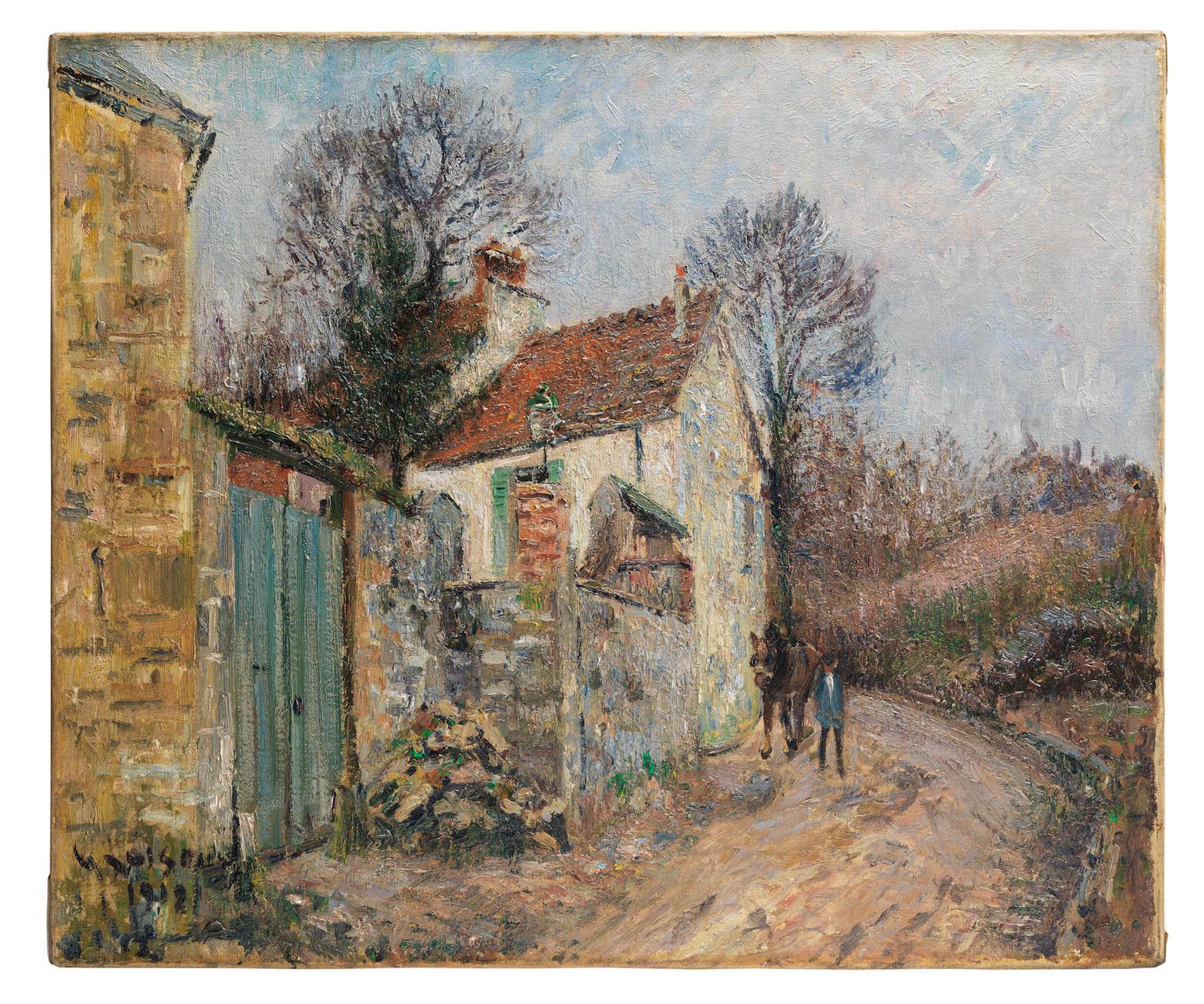 Gustave Loiseau-Le Chemin De La Plaine, Pontoise-1912