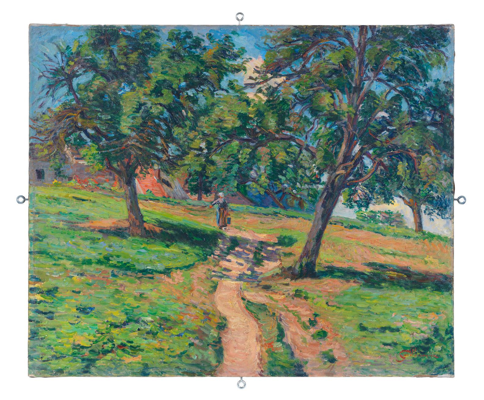Jean-Baptiste Armand Guillaumin-Chemin A Damiette-1886