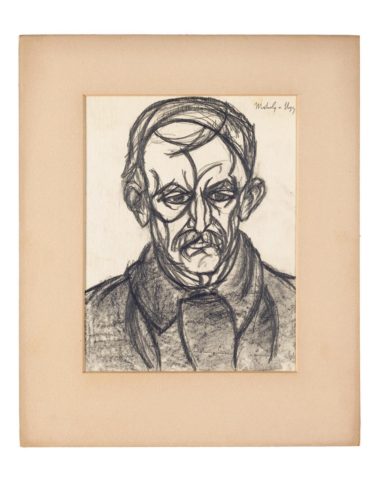 Laszlo Moholy-Nagy-Portrat Eines Mannes-1920