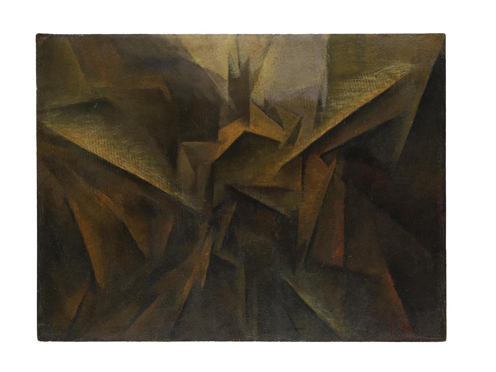 Roberto Marcello Iras Baldessari-Dinamismo Di Un Paesaggio-1915