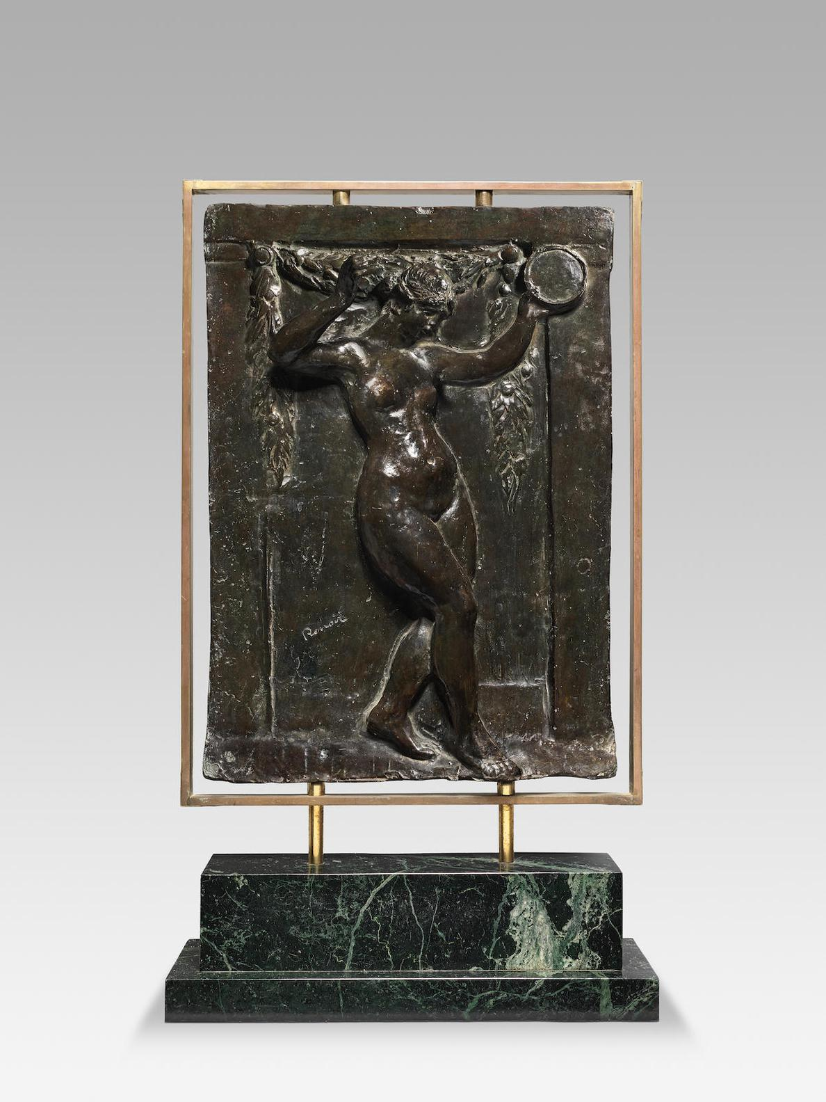 Pierre-Auguste Renoir-After Pierre-Auguste Renoir - Danseuse Au Tambourin I-1950