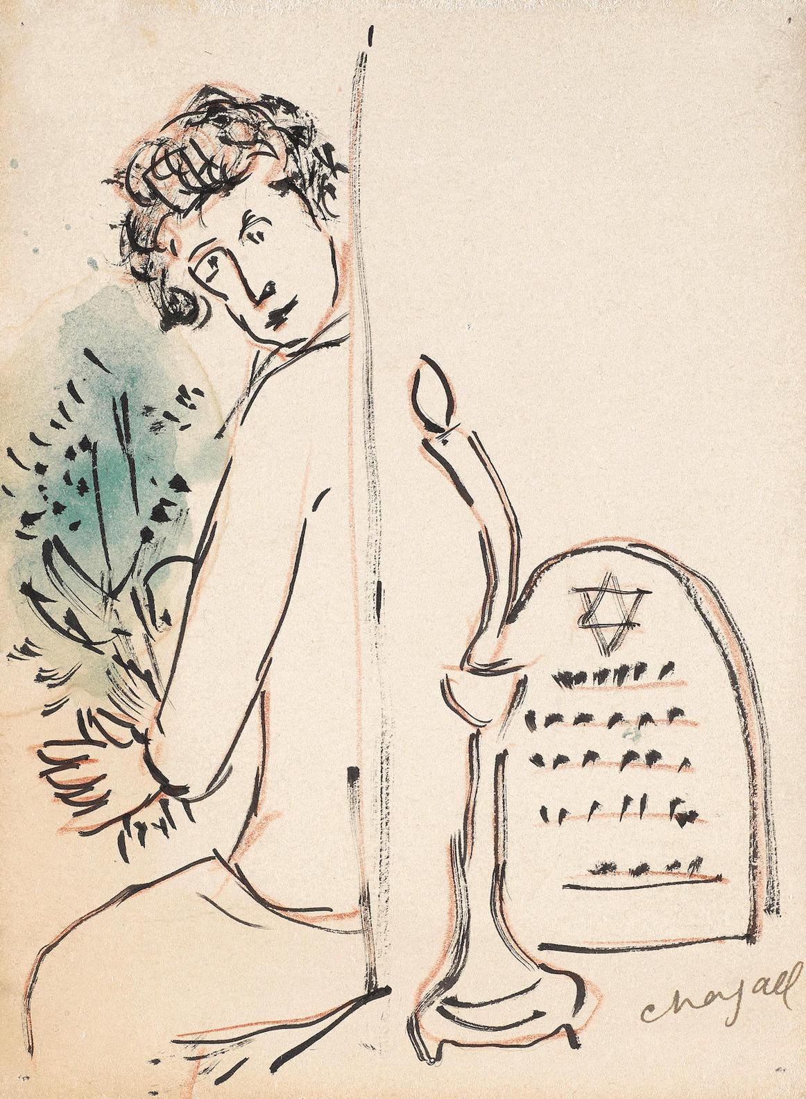 Marc Chagall-Souvenir-1938