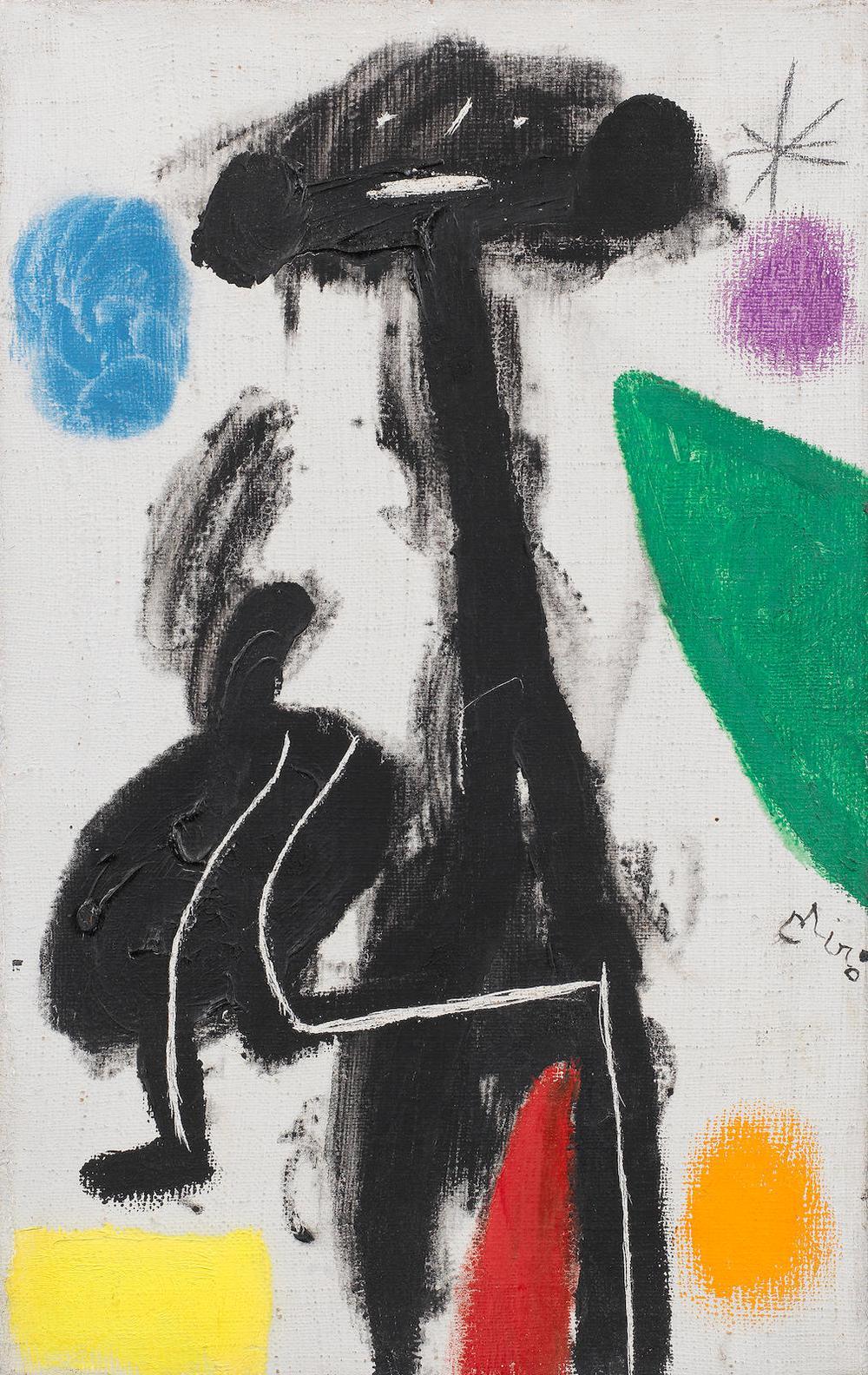 Joan Miro-Femme, Etoile-1978