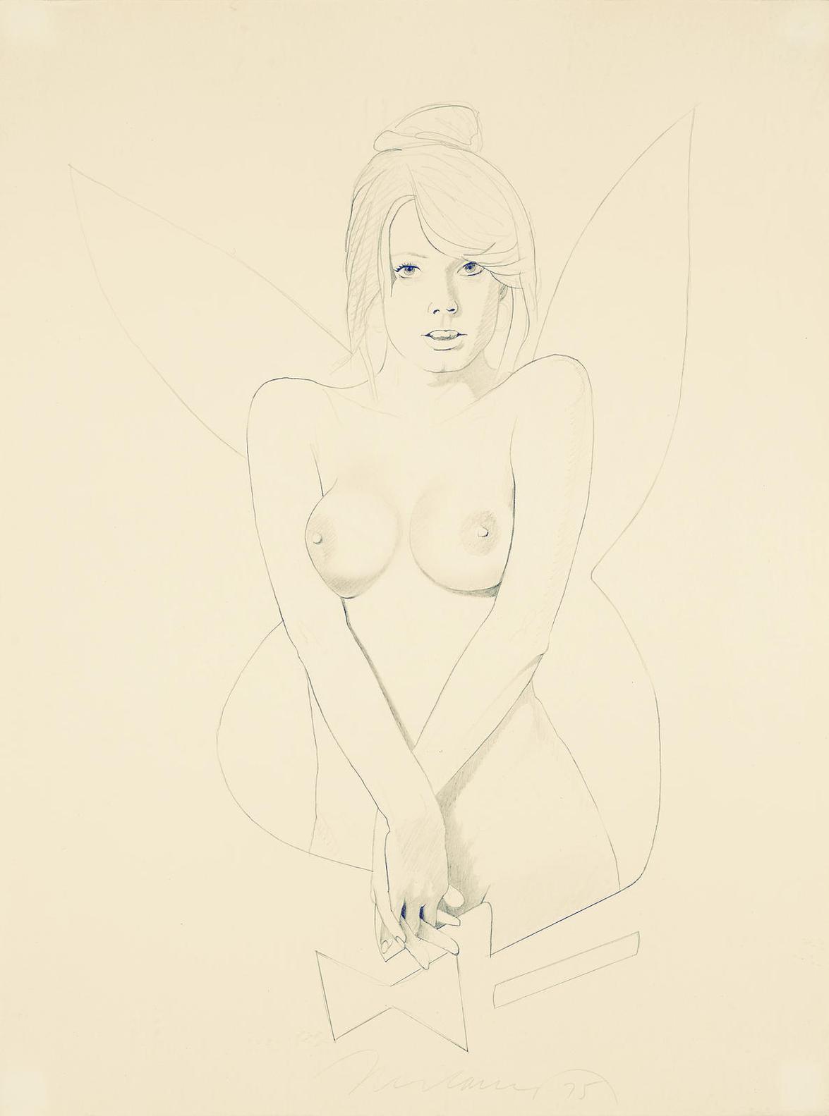 Mel Ramos-Playboy Project 2#-1975