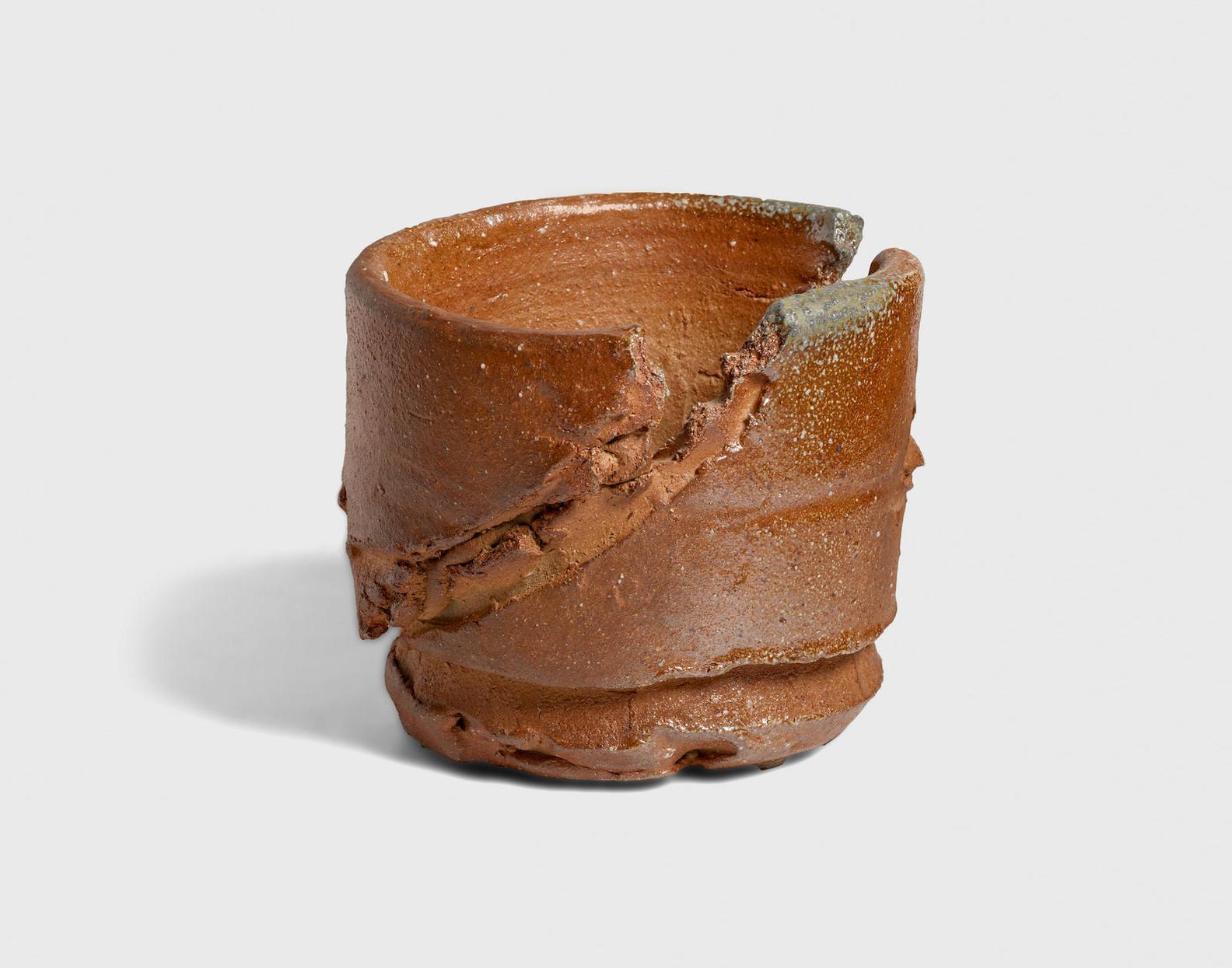 Peter Voulkos-Untitled (Tea Bowl)-2000