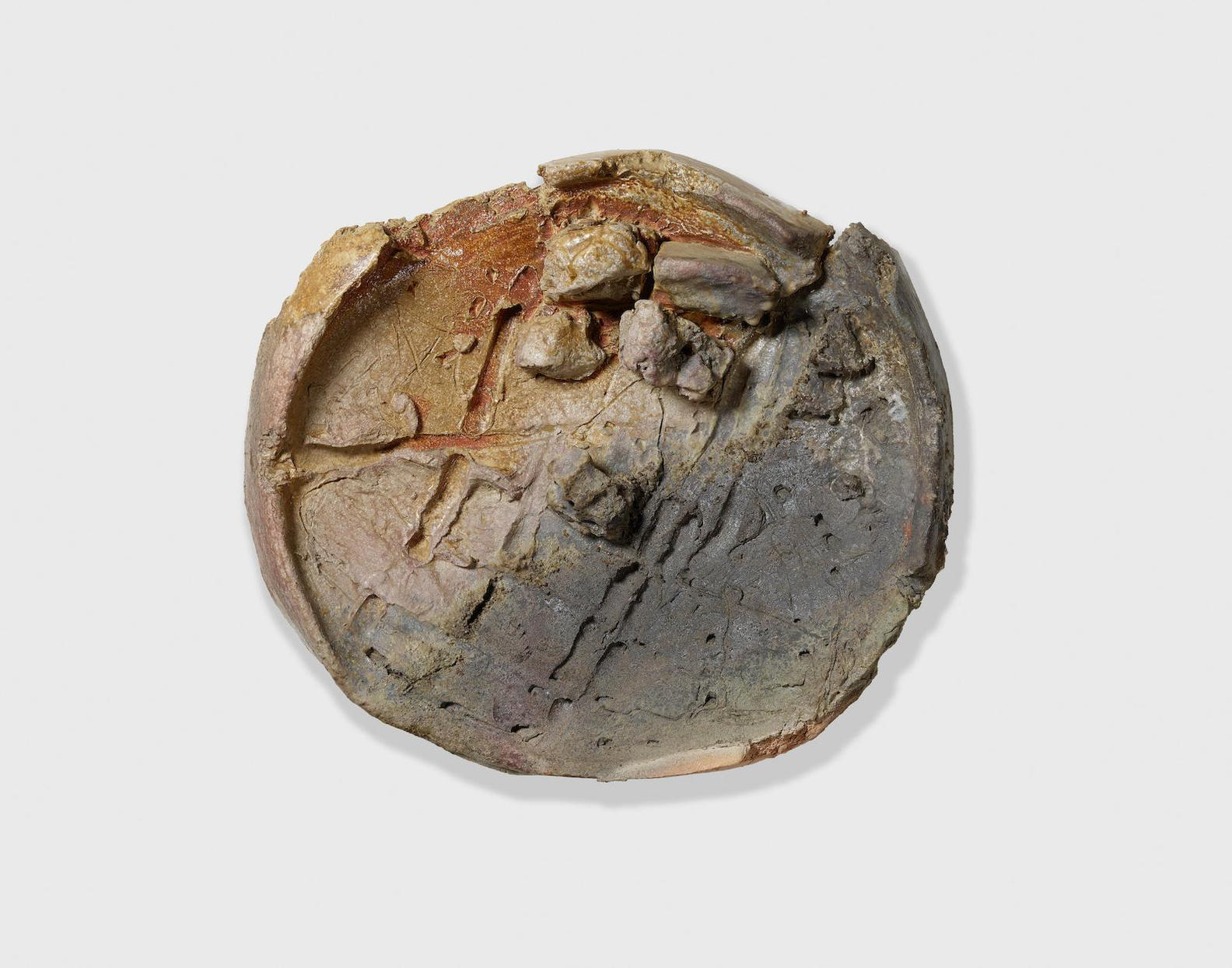 Peter Voulkos-Untitled (Plate)-1997