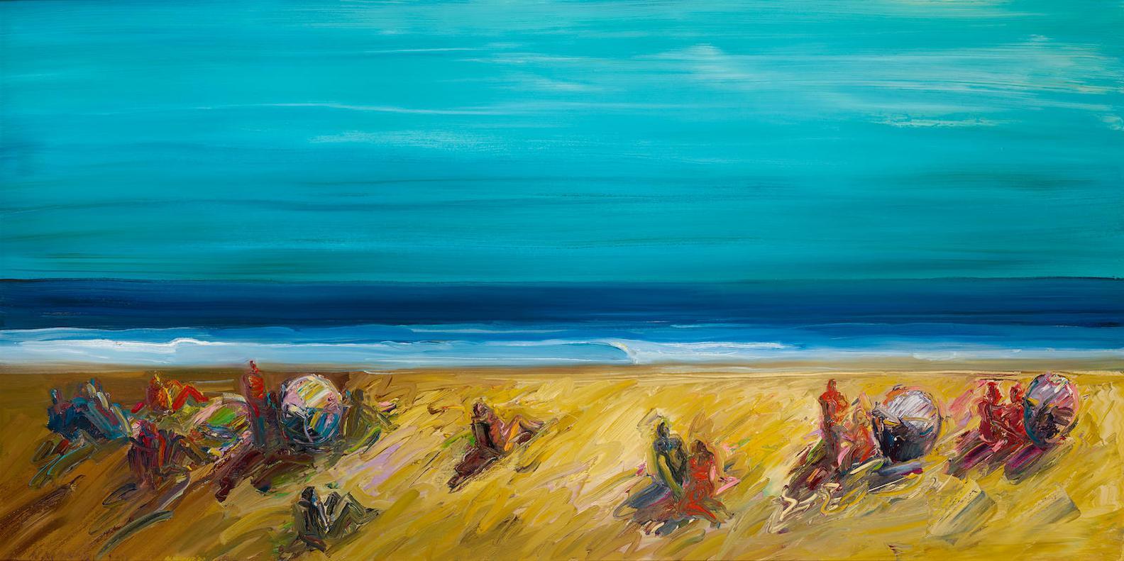 Carlos Almaraz-Sunset Beach-1983