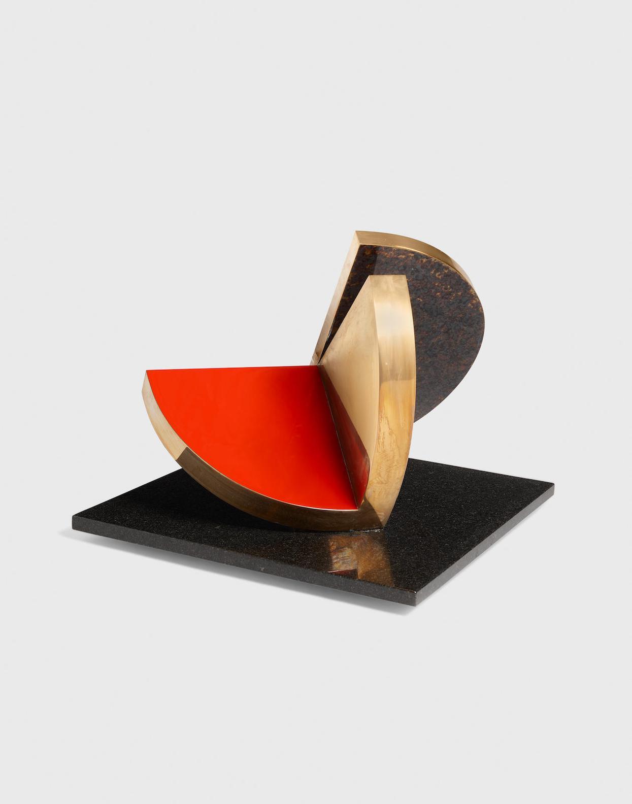 Fletcher Benton-Folded Semi-Circle-1977