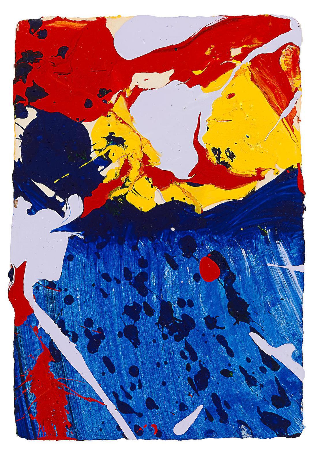 Sam Francis-Sklye-1986
