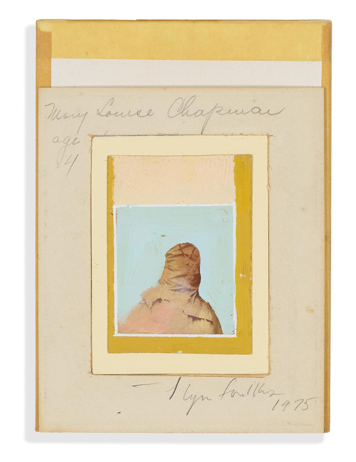 Llyn Foulkes-Untitled (Mary Louise Chapman, Age 4)-1975