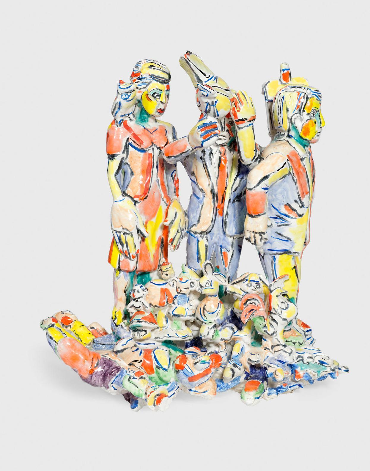 Viola Frey-Untitled-1995
