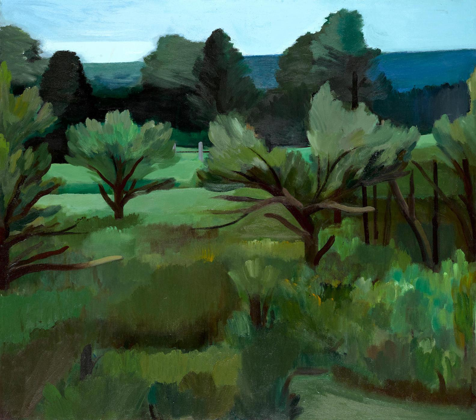 James Weeks-Maine Landscape-1975