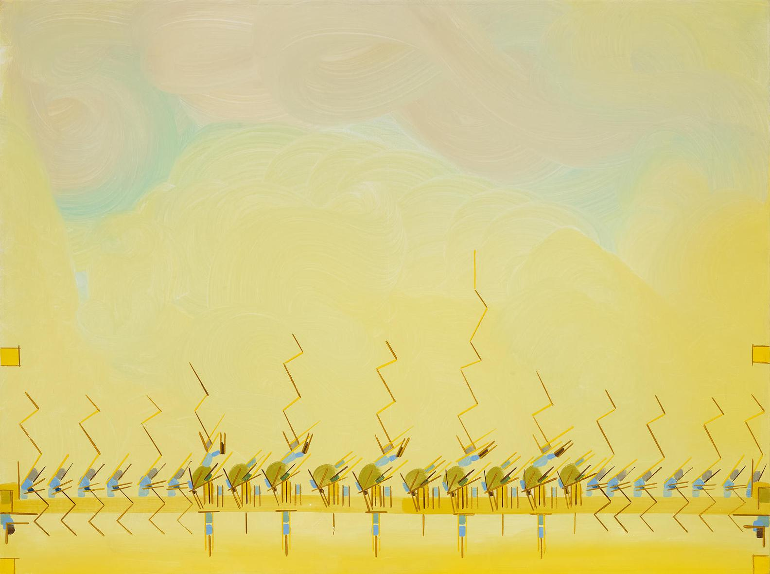 Lee Mullican-Venice (From The Kachina Series)-1971
