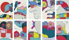 KAWS-Blame Game (A Complete Set Of Ten Prints)-2014