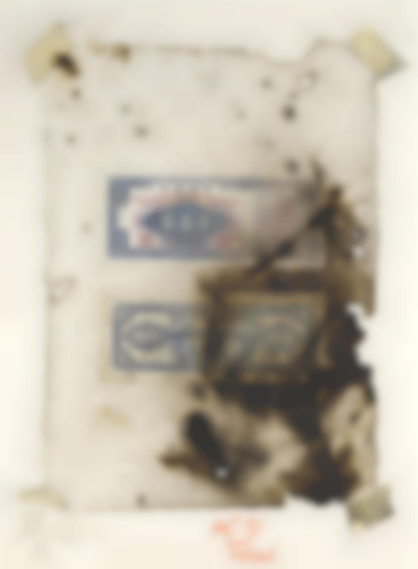 Cai Guo-Qiang-Golden Yuan Bills - Numinous Talismans-2005
