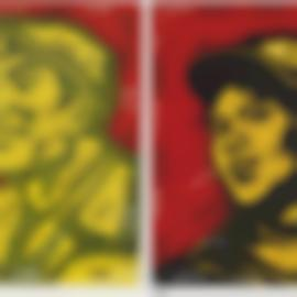 Wang Guangyi-The Belief (Two Works)-2003