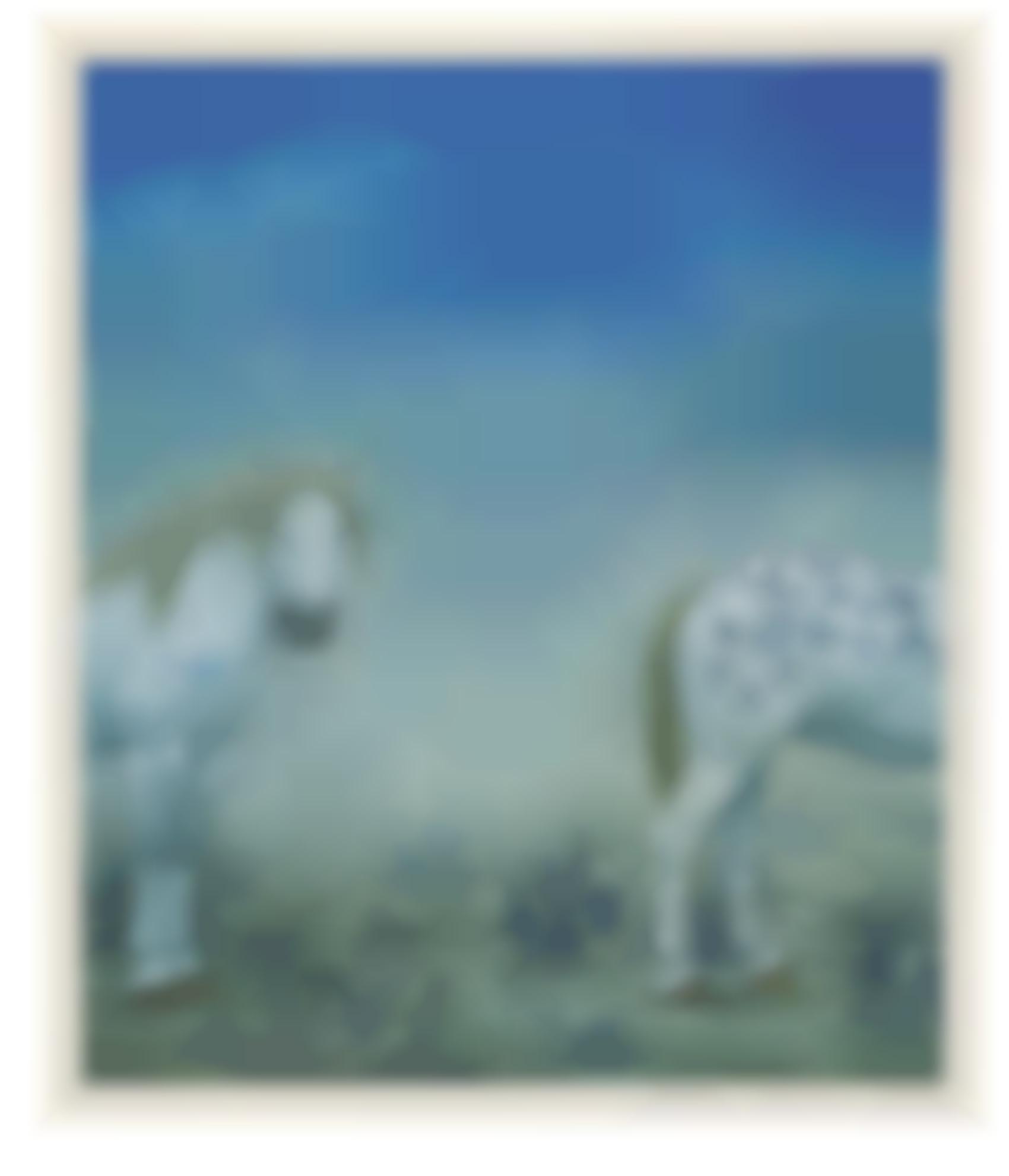 Xu Lei-Dissociated Blue-And-White Porcelain-1998