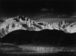Ansel Adams-Winter Sunrise, The Sierra Nevada From Lone Pine-1944