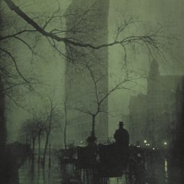 Edward Steichen-Flatiron - Evening-1905