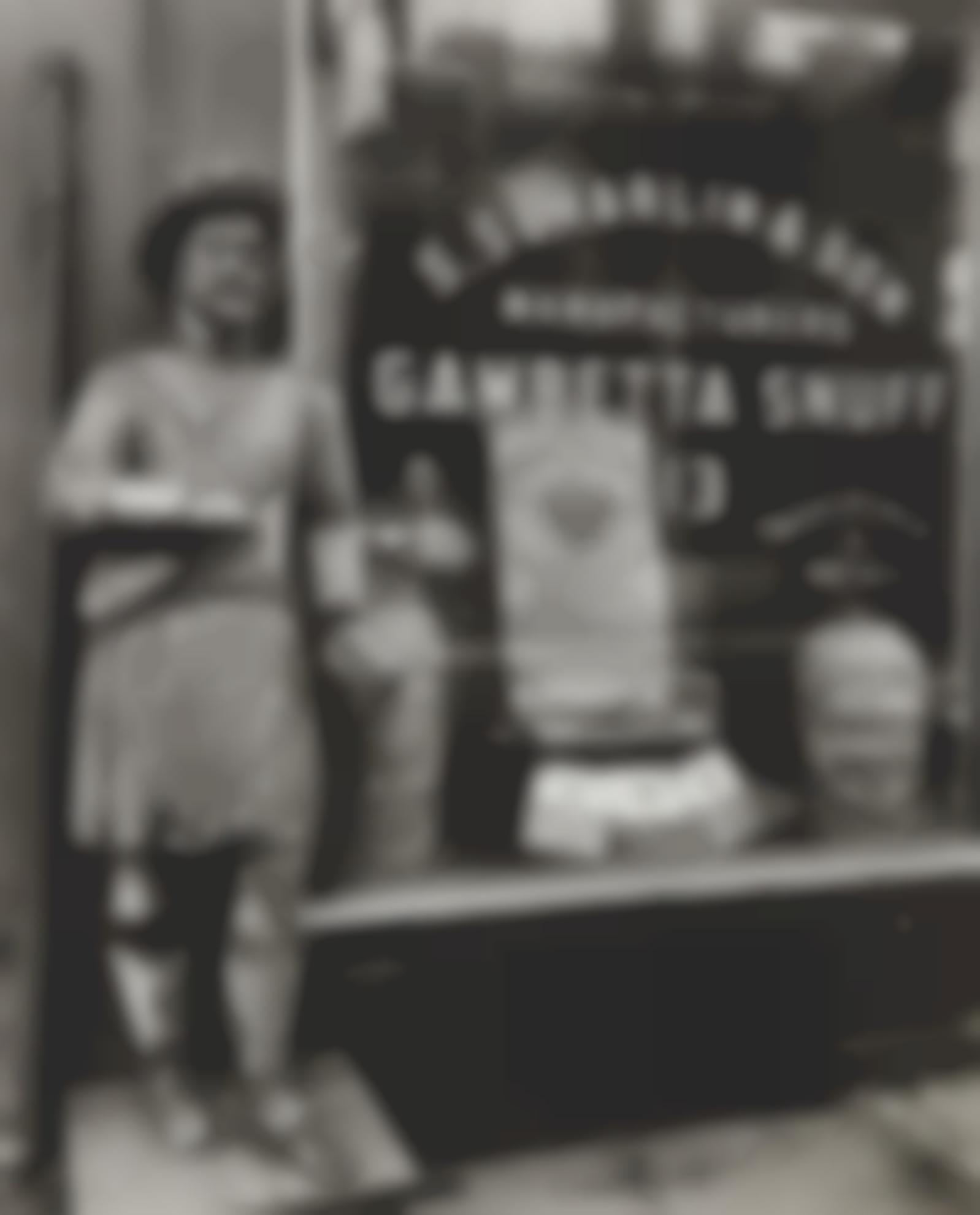 Berenice Abbott-Gambetta Snuff Shop, New York-1938