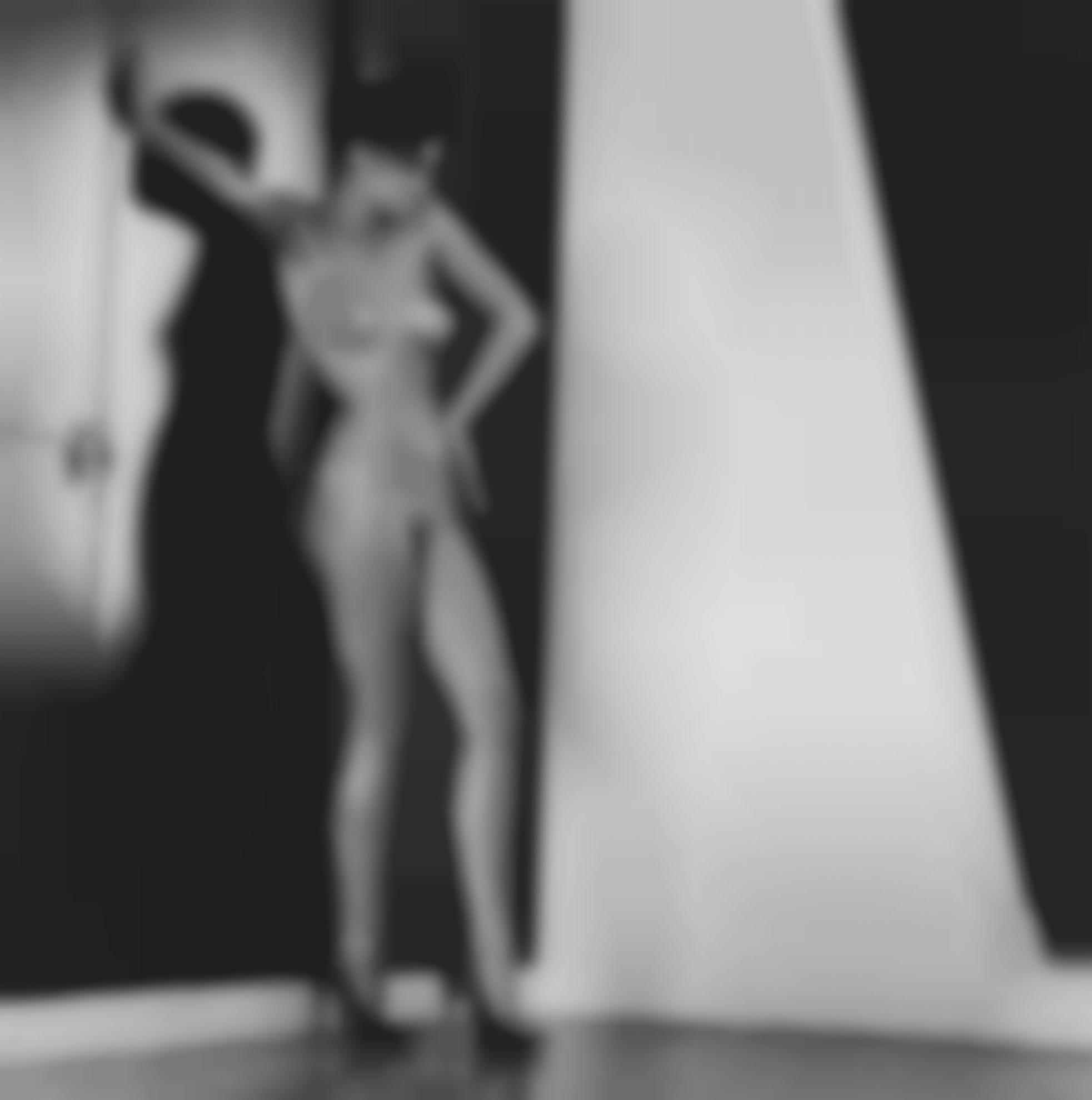 Helmut Newton-Sylvia In My Studio-1981